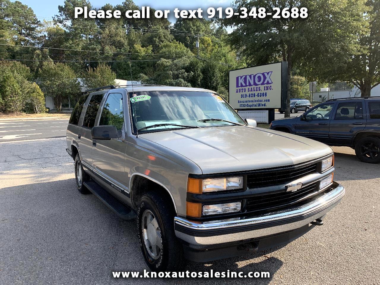 1998 Chevrolet Tahoe 4-Door 4WD