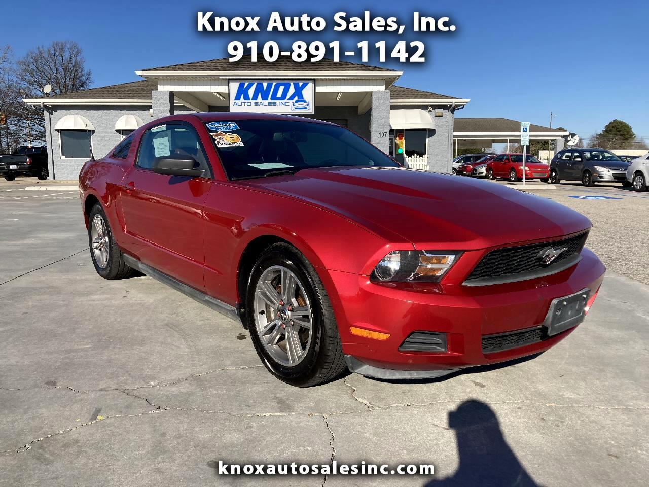 Ford Mustang 2dr Cpe V6 Premium 2010