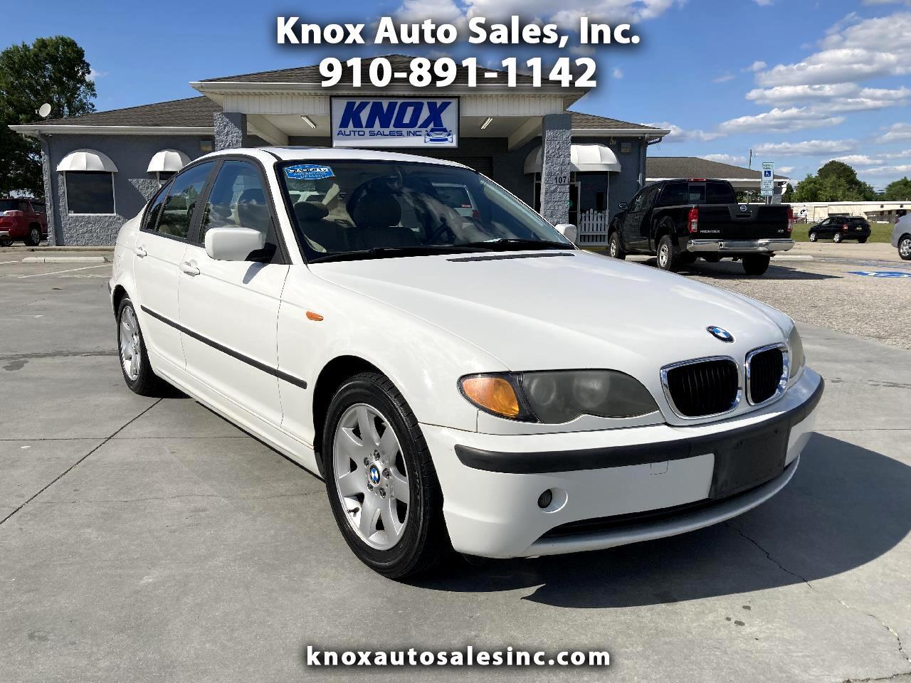 BMW 3 Series 325i 4dr Sdn RWD 2002