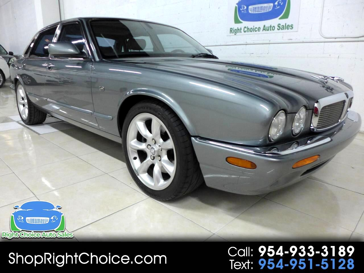 2002 Jaguar XJ-Series XJR