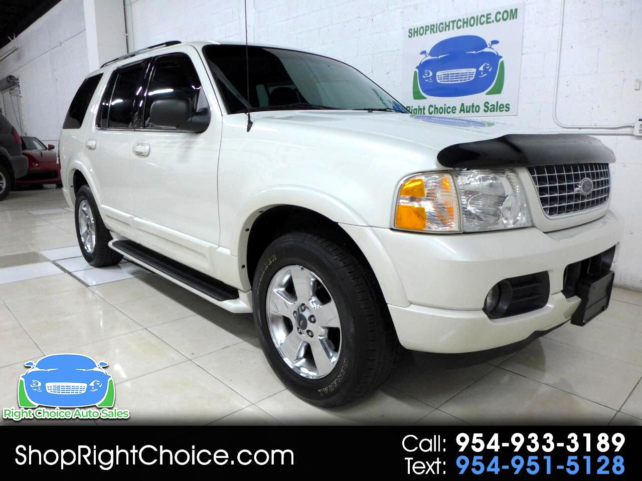 2003 Ford Explorer Limited 4.6L 2WD