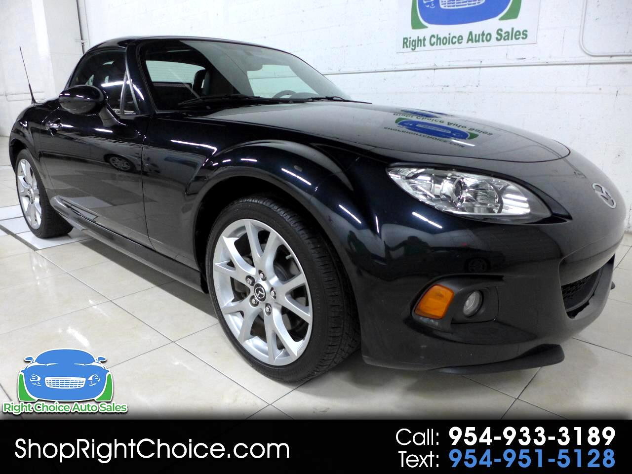 2014 Mazda MX-5 Miata Grand Touring Power Hard Top AT