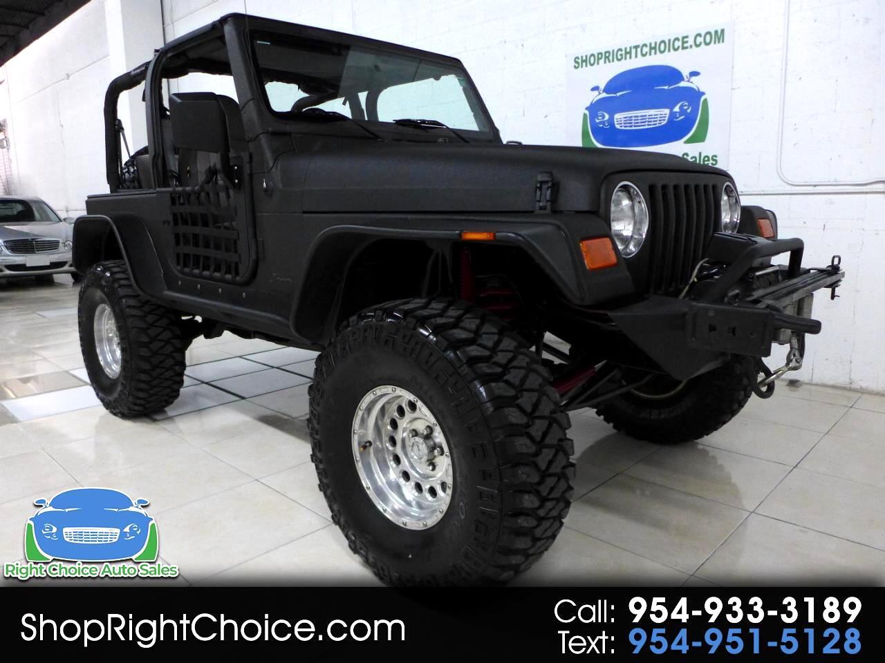 1998 Jeep Wrangler 4WD 2dr TJ