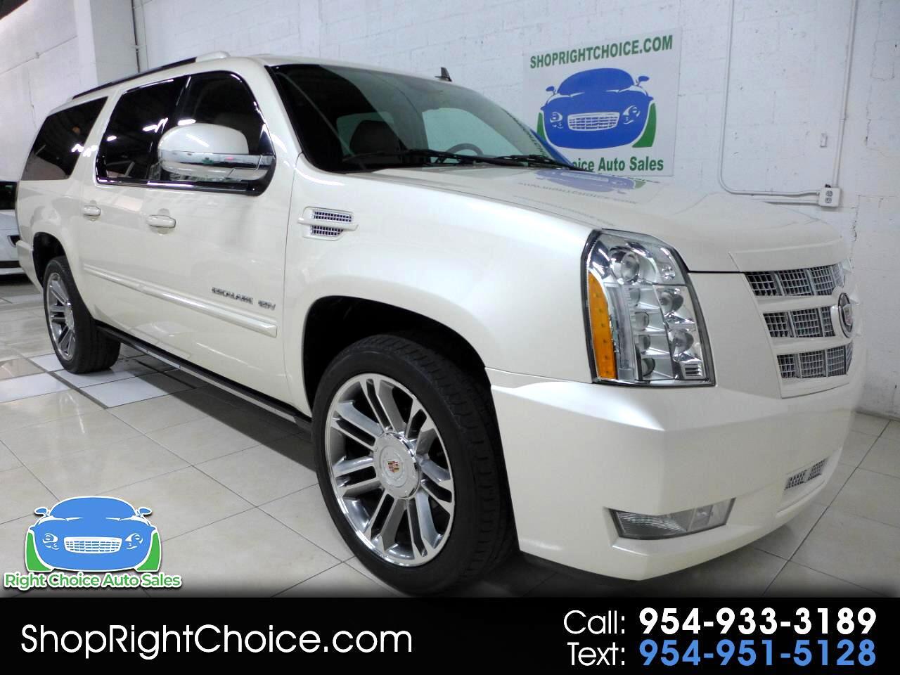 Cadillac Escalade ESV 2WD Premium 2013