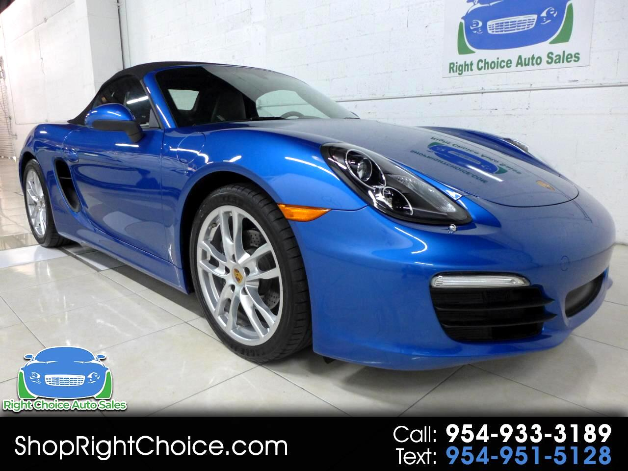 2016 Porsche Boxster 2dr Roadster Manual