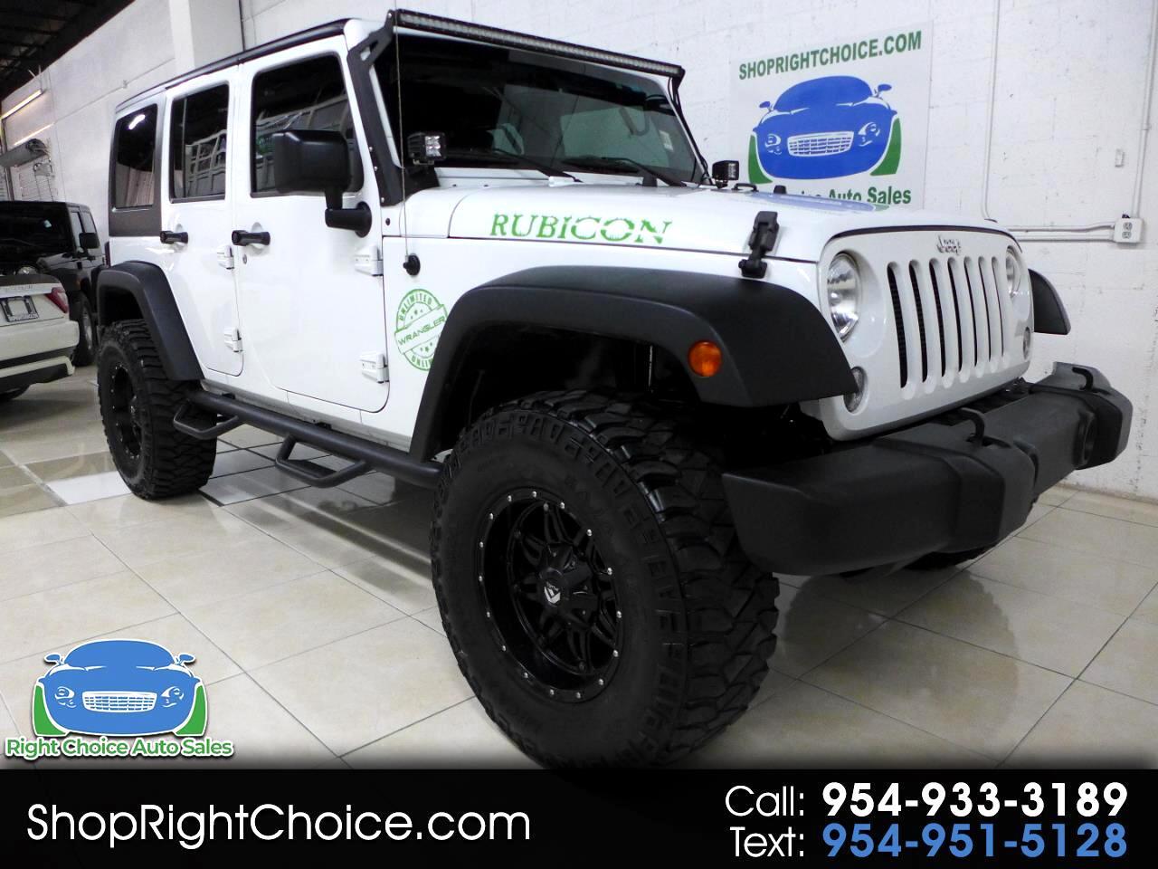 Jeep Wrangler Unlimited Rubicon 4WD 2015