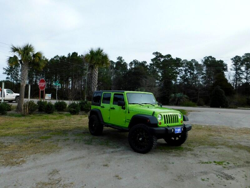 2013 Jeep Wrangler Unlimited Sport 4WD