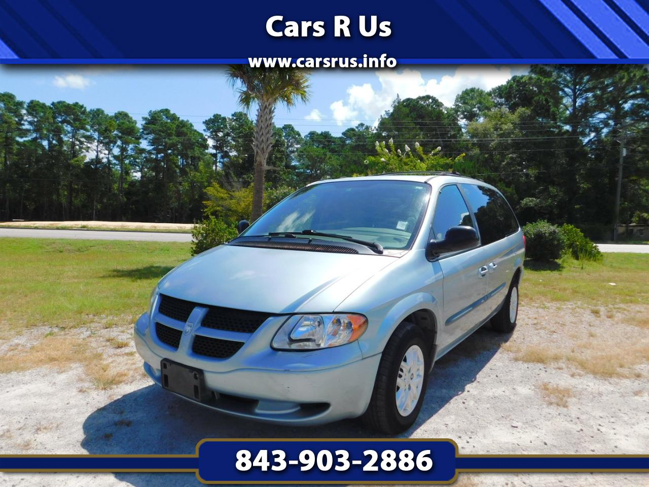 used 2003 dodge grand caravan sport fwd for sale in myrtle beach sc 29588 cars r us used 2003 dodge grand caravan sport fwd