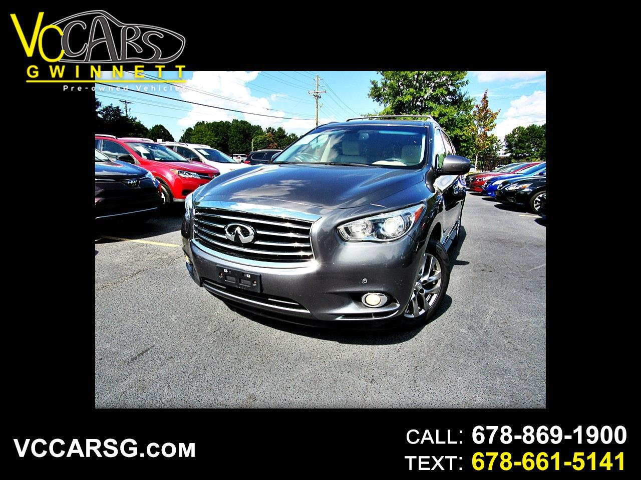 2015 Infiniti QX60 Theater Package