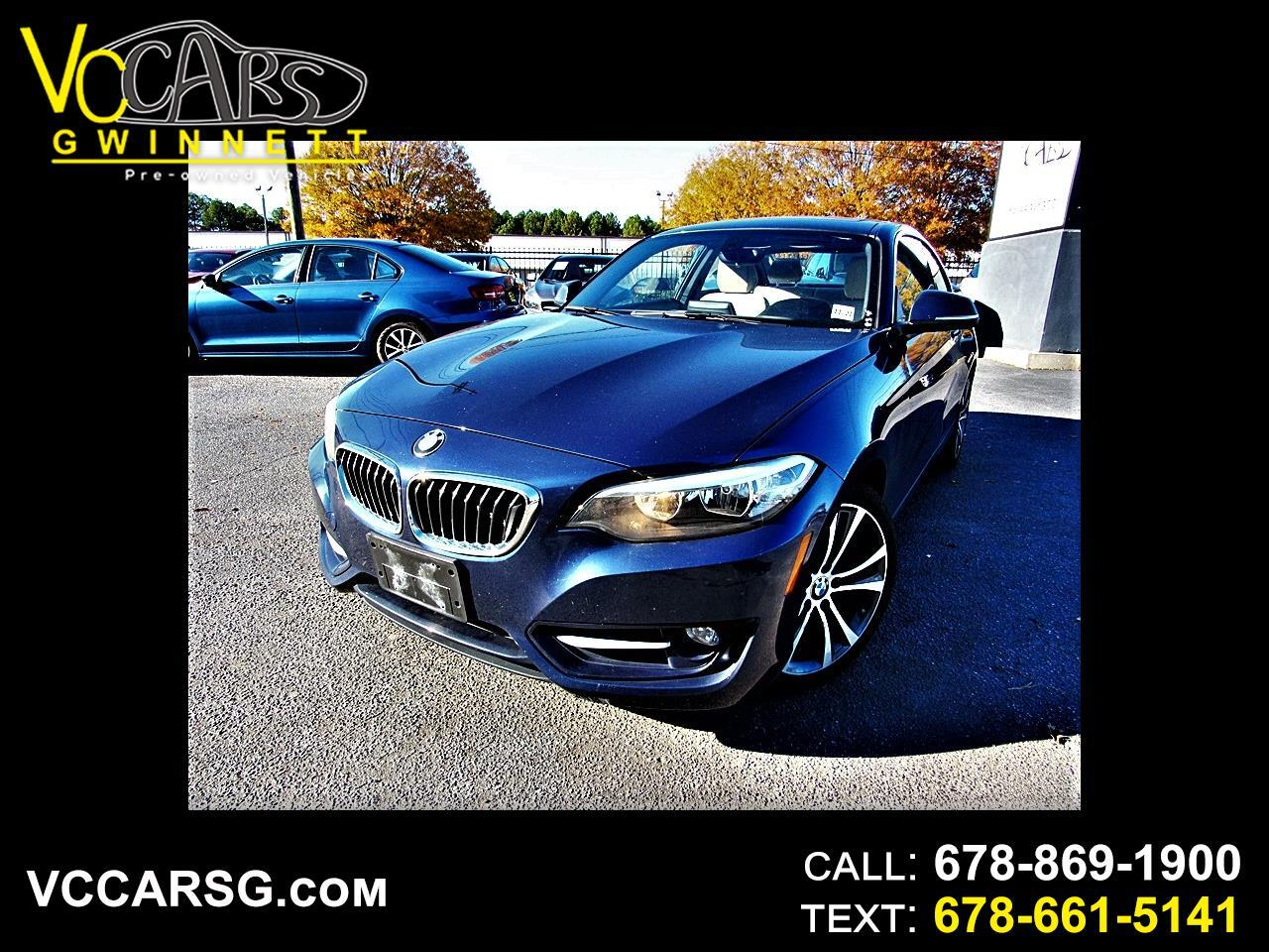 BMW 2-Series 228i xDrive SULEV Coupe 2016