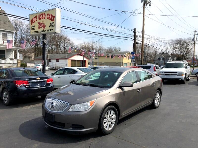 2011 Buick LaCrosse 4dr Sdn CX