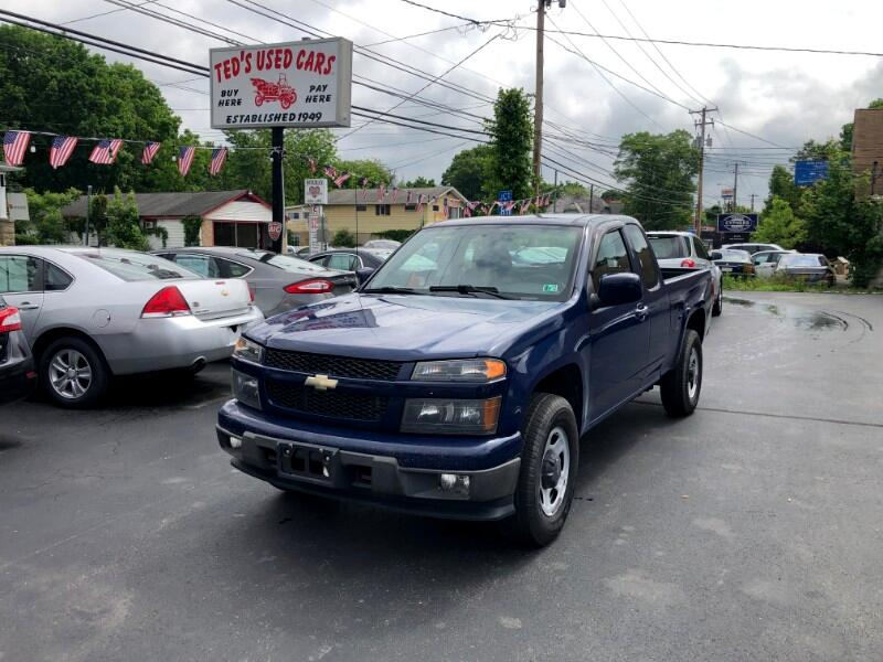 Chevrolet Colorado Work Truck Ext. Cab 4WD 2010