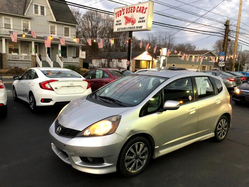 Honda Fit Sport 5-Speed AT 2012