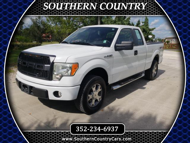 "2009 Ford F-150 2WD SuperCab 133"" STX"