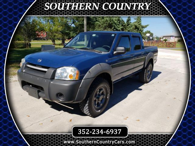 2002 Nissan Frontier 2WD XE Crew Cab V6 Manual Std Bed