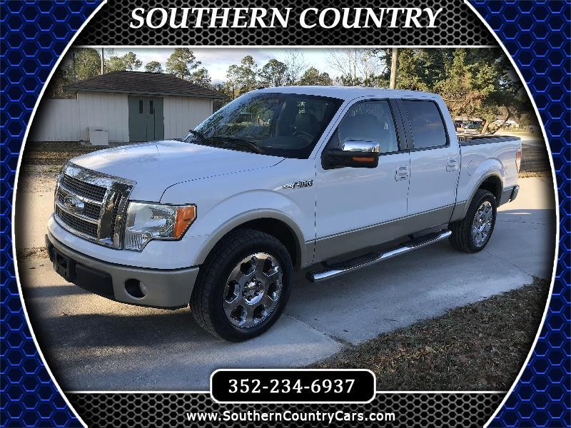 "2009 Ford F-150 2WD SuperCrew 145"" Lariat"