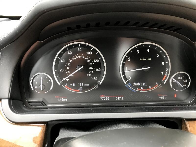 2013 BMW 7 Series 4dr Sdn 750Li RWD