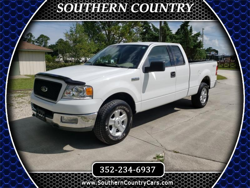 "2004 Ford F-150 4WD SuperCab 145"" XLT"