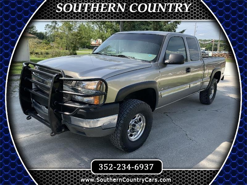 2003 Chevrolet Silverado 2500HD Ext Cab 143.5