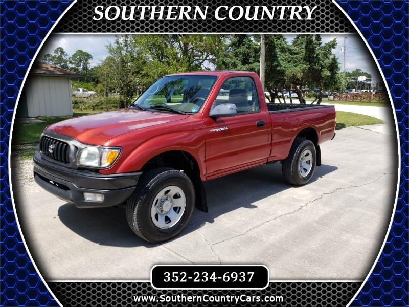 2003 Toyota Tacoma Reg Cab Manual 4WD (Natl)