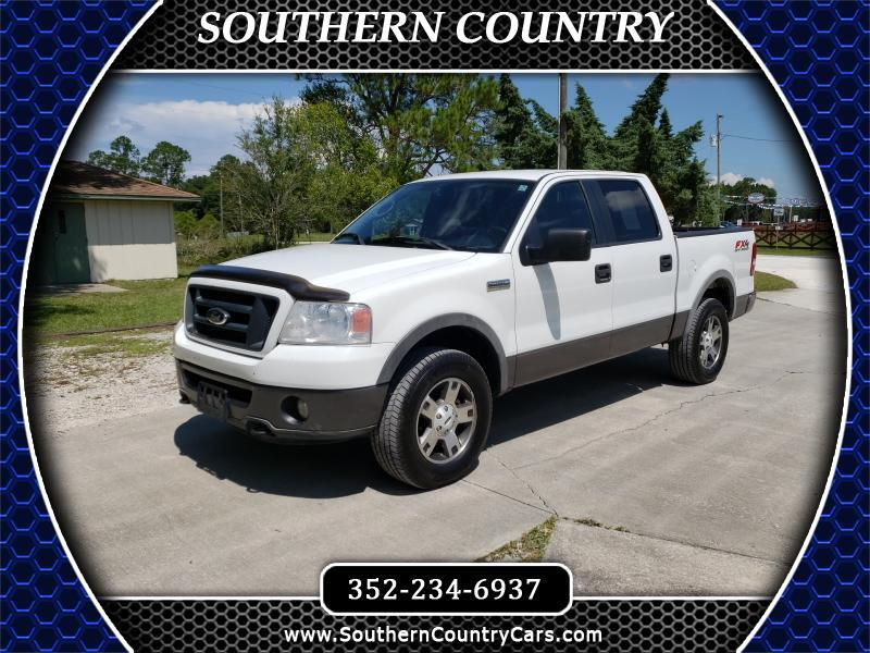 """2006 Ford F-150 SuperCrew 139"""" FX4 4WD"""