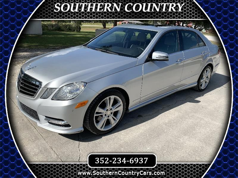 Mercedes-Benz E-Class 4dr Sdn E 350 Sport RWD *Ltd Avail* 2013