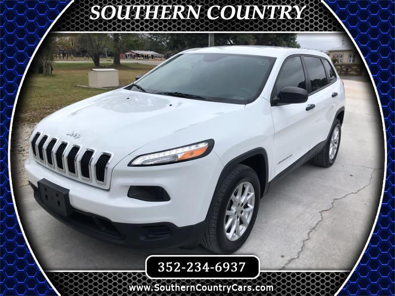 Jeep Cherokee 4WD 4dr Sport 2015