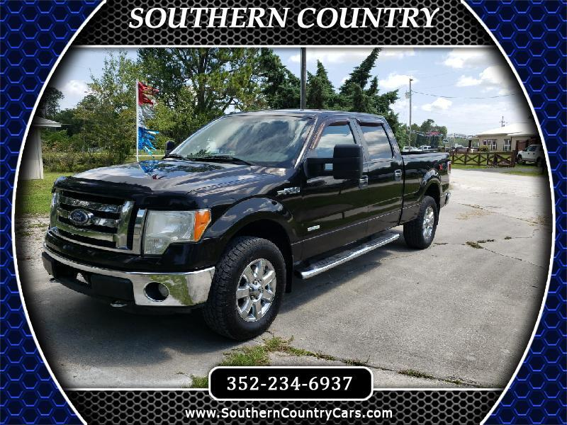 "Ford F-150 4WD SuperCrew 157"" XLT 2013"