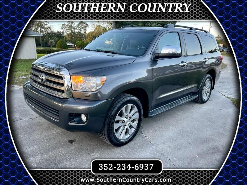Toyota Sequoia RWD 5.7L Limited (Natl) 2014