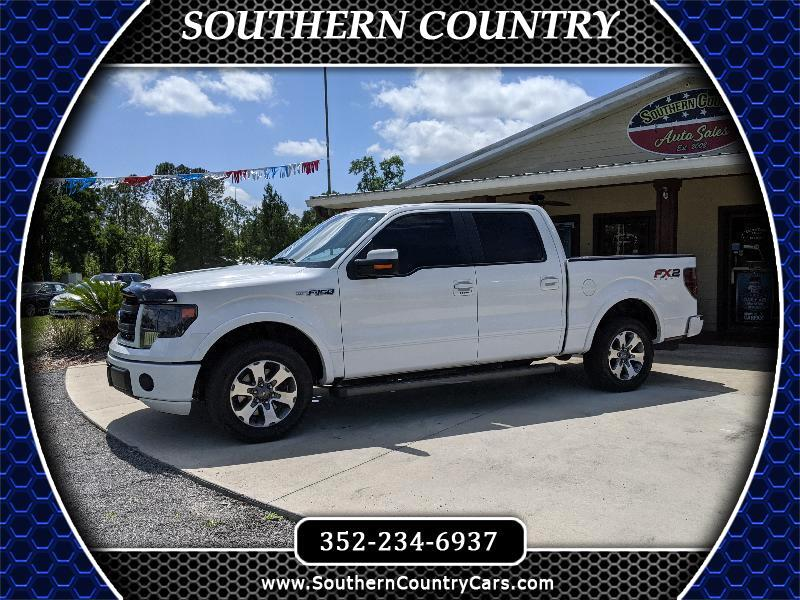 "Ford F-150 2WD SuperCrew 145"" FX2 2013"