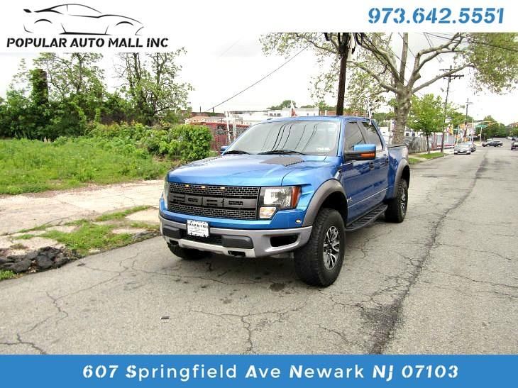 Ford F-150 SVT Raptor SuperCrew 5.5-ft. Bed 4WD 2012