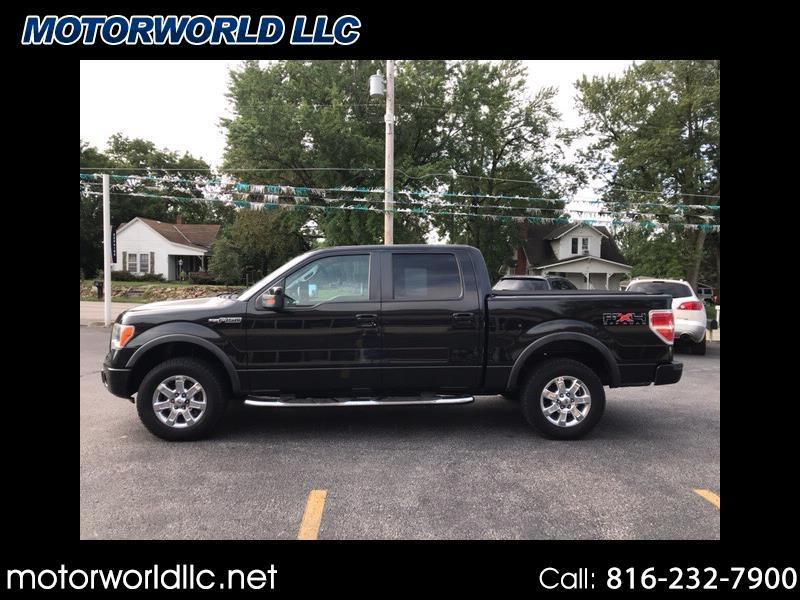 """2010 Ford F-150 4WD SuperCrew 145"""" FX4"""