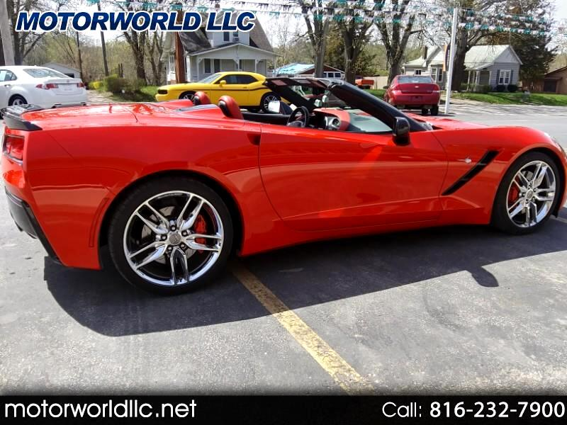 2014 Chevrolet Corvette 2dr Stingray Z51 Conv w/2LT