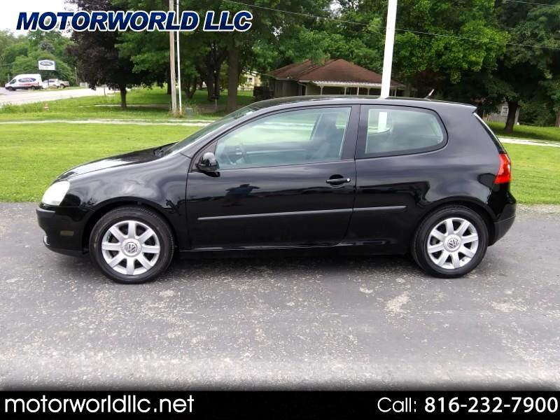 2009 Volkswagen Rabbit 2-Door S