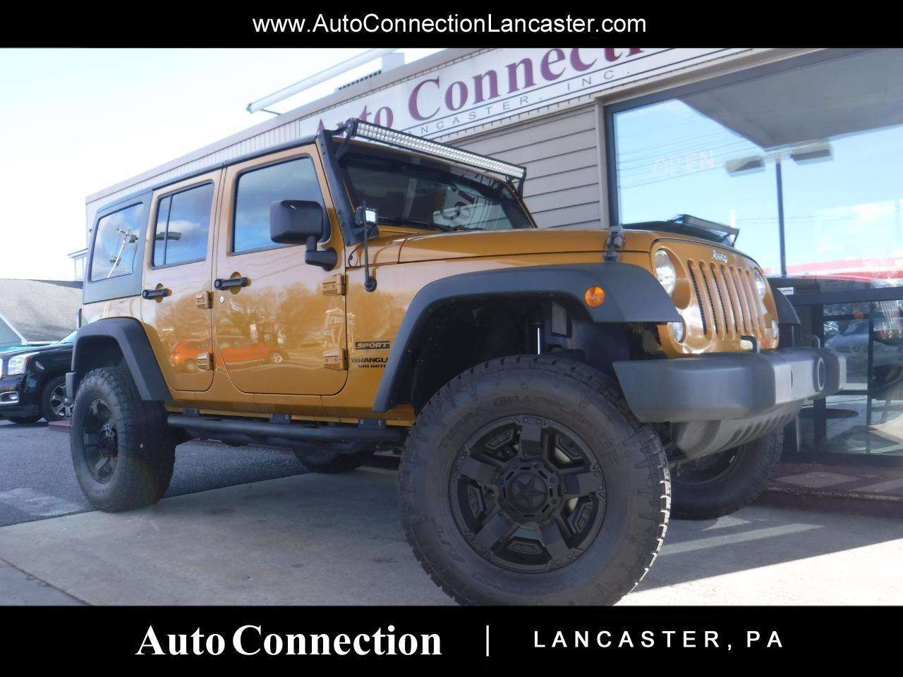 2014 Jeep Wrangler Unlimited 4WD 4dr Sport LIFTED