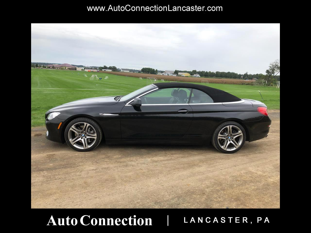 2012 BMW 6 Series 2dr Conv 650i
