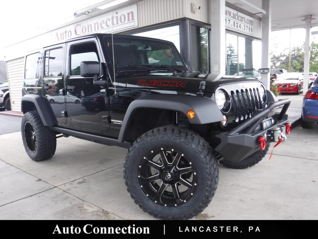 2017 Jeep Wrangler Unlimited 4dr Rubicon LIFTED 4WDPRO EDITION