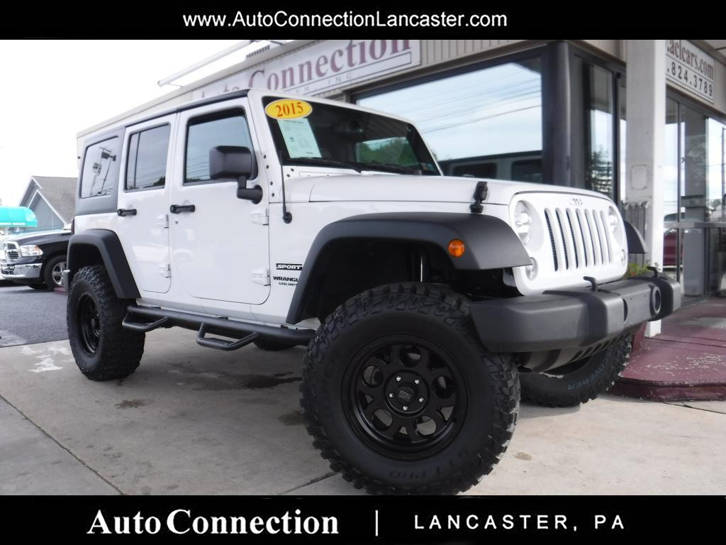2015 Jeep Wrangler Unlimited 4WD 4dr Sport LIFTED