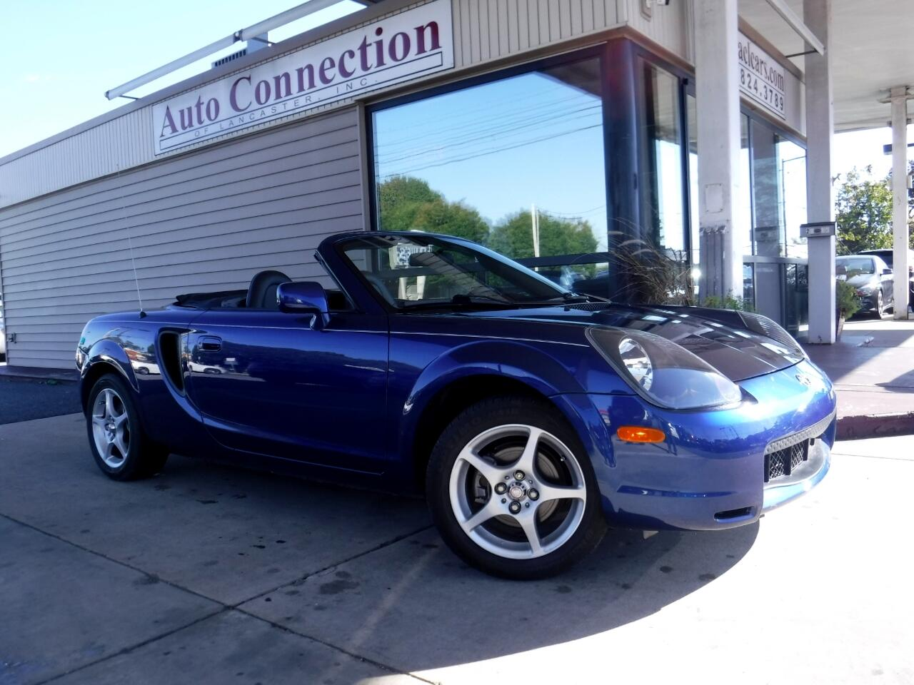 2002 Toyota MR2 Spyder 2dr Conv Manual (Natl)