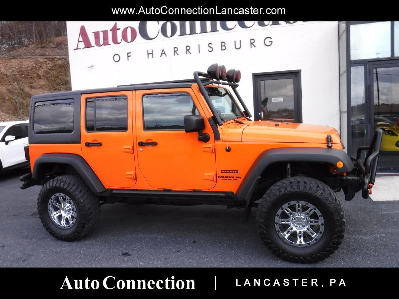 2013 Jeep Wrangler Unlimited 4WD 4dr Sport LIFTED