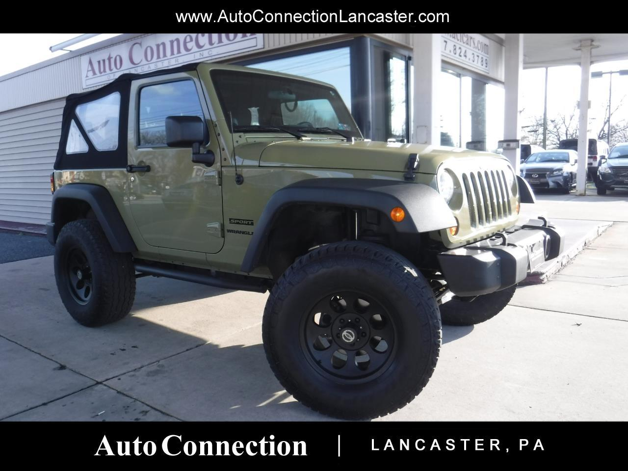 2013 Jeep Wrangler 4WD 2dr Sport LIFTED