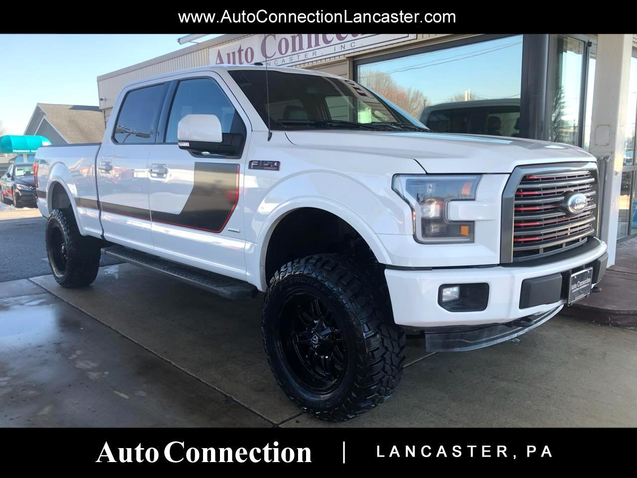 """2016 Ford F-150 SuperCrew 145"""" Lariat LIFTED 4WDPRO EDITION"""