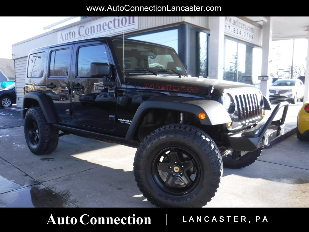 2012 Jeep Wrangler Unlimited 4WD 4dr Rubicon LIFTED