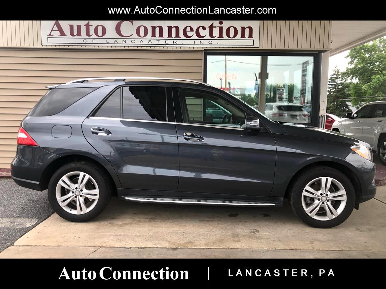 Used 2014 Mercedes-Benz M-Class 4MATIC 4dr ML 350 for Sale in