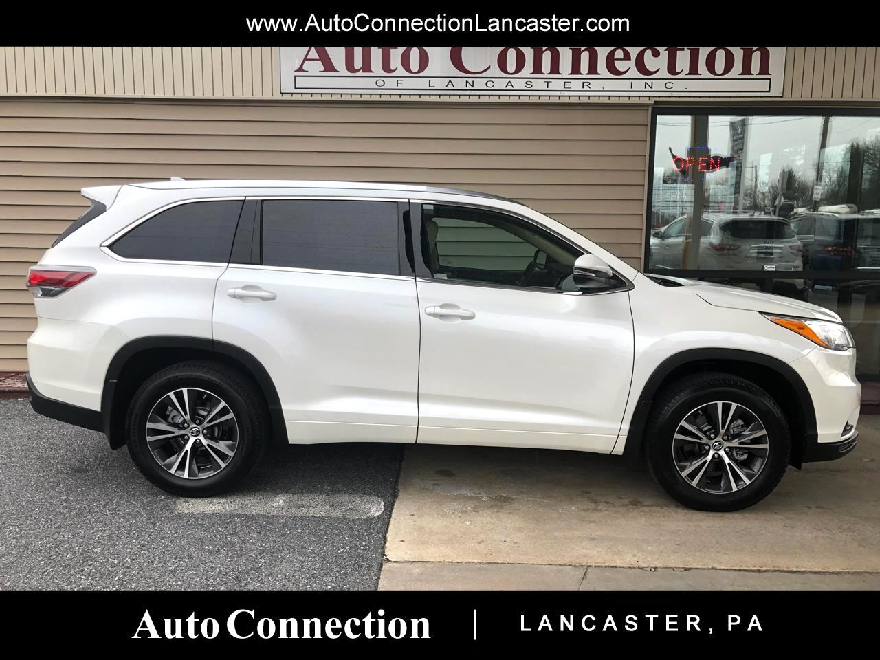 Toyota Lancaster Pa >> Used 2016 Toyota Highlander Awd 4dr V6 Xle Natl For Sale In