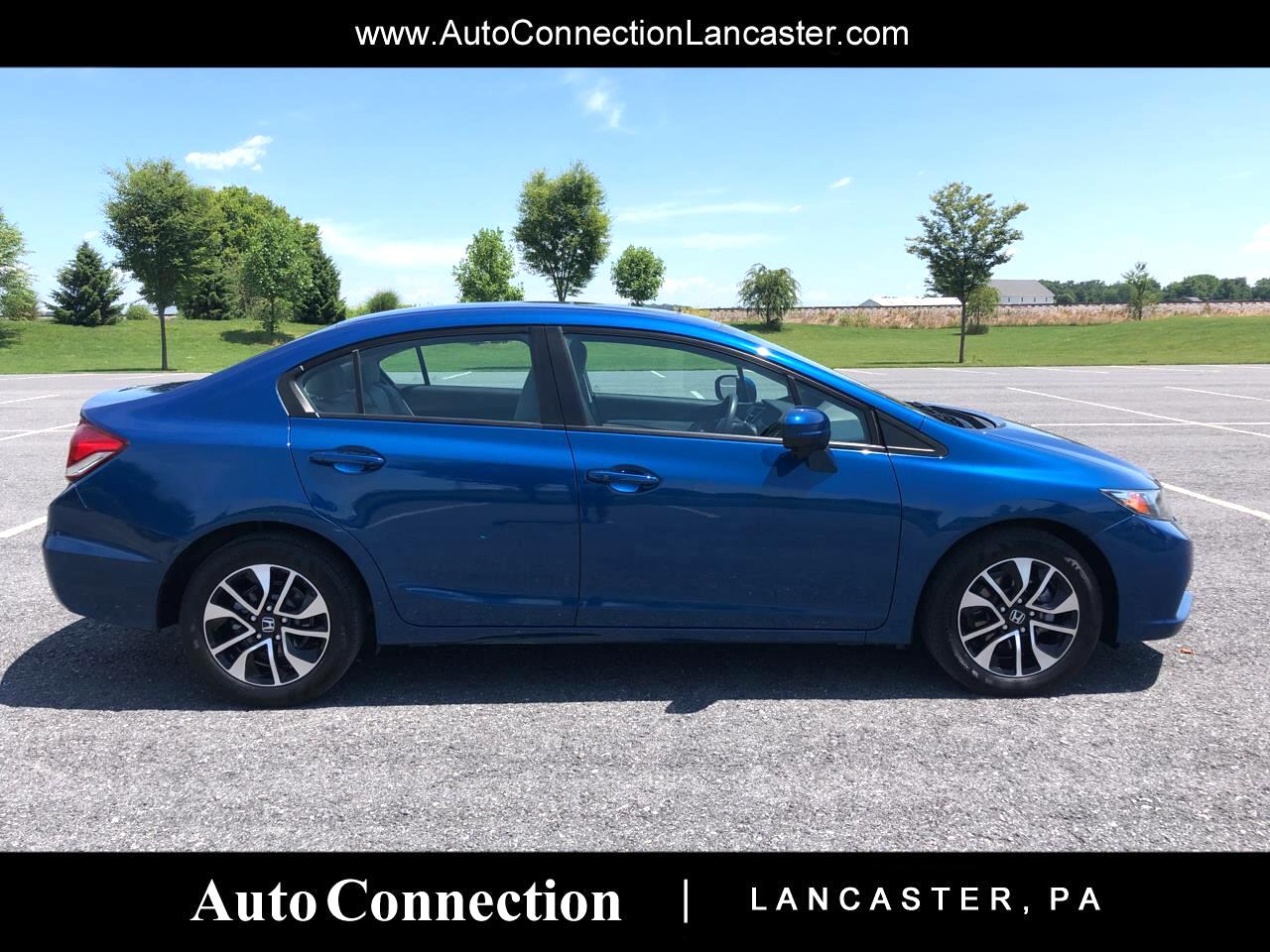 2015 Honda Civic Sedan 4dr CVT EX