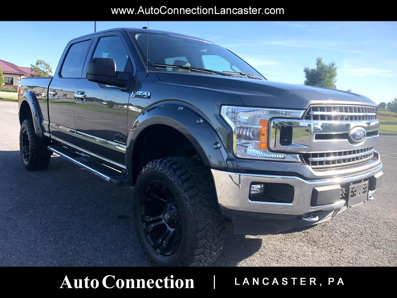 "2018 Ford F-150 4WD SuperCrew 145"" XLT"
