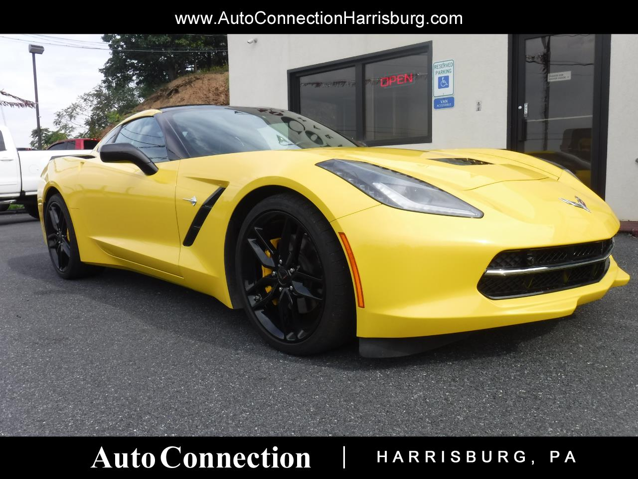 2016 Chevrolet Corvette 2dr Stingray Cpe w/2LT