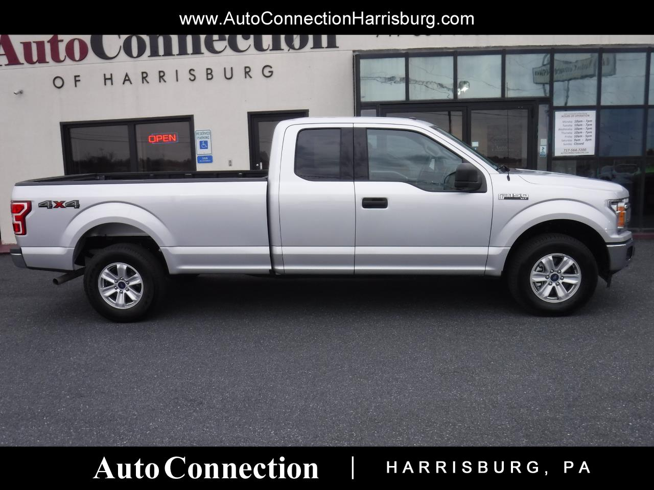 2018 Ford F-150 4WD SuperCab 8-Ft Bed XLT