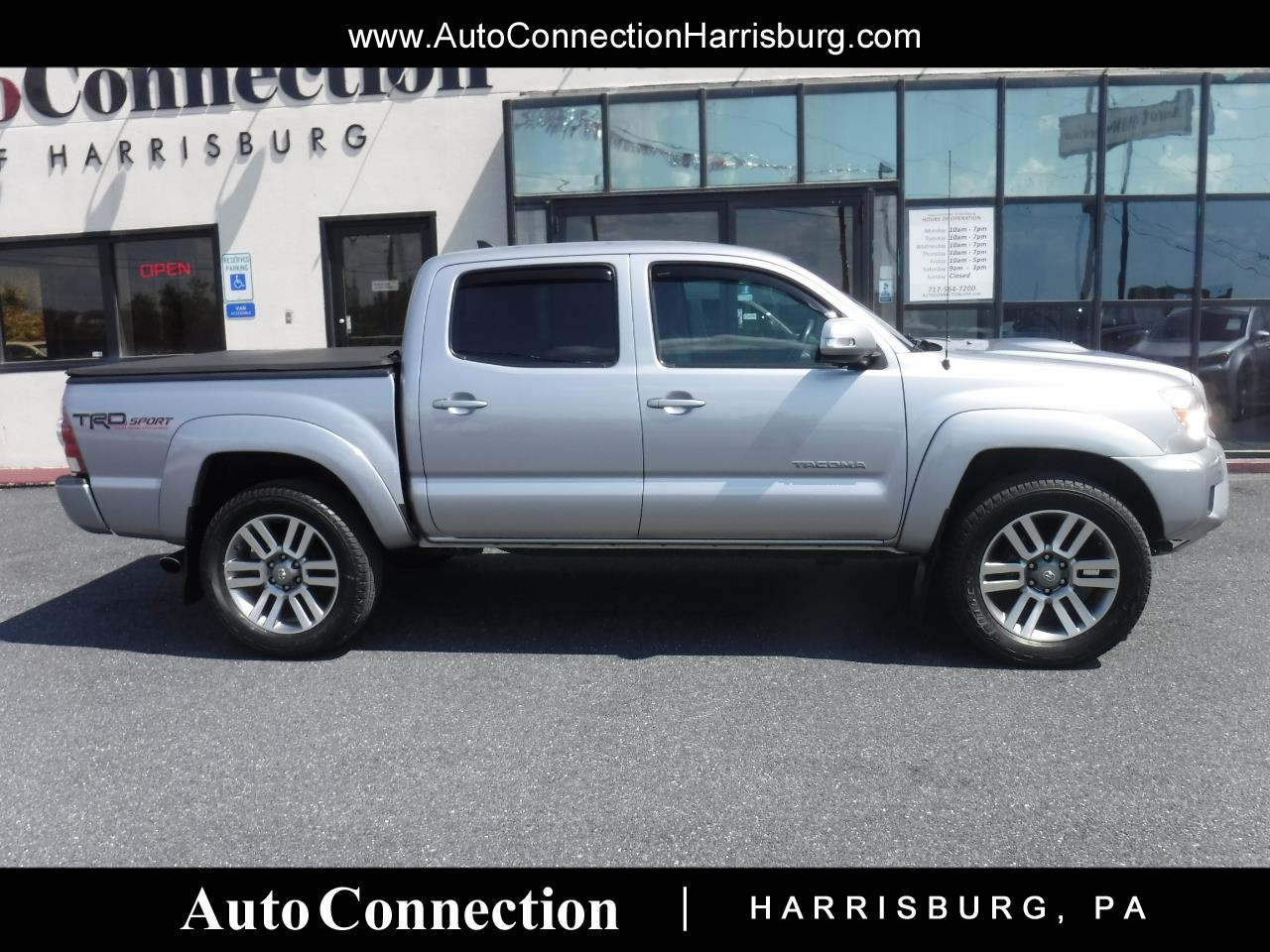 2014 Toyota Tacoma 4WD Double Cab V6 MT TRD Sport (Natl)